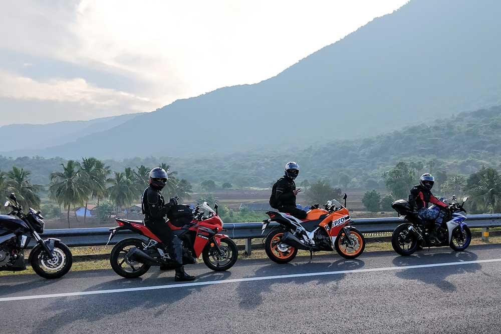 Motorcycle Rental Russia